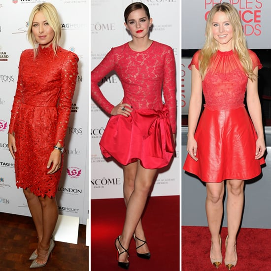 Celebrities Wearing Red Valentino Dresses