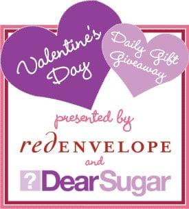 Last Day for DearSugar & RedEnvelope Valentine's Day Giveaway