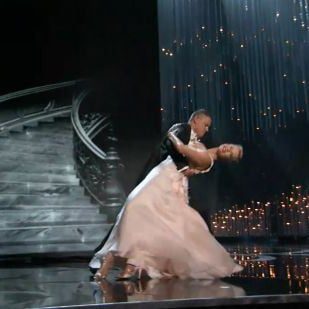 Charlize Theron and Channing Tatum Dancing Oscars GIF