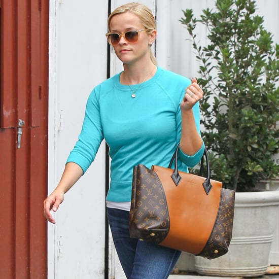 Reese Witherspoon Carrying Louis Vuitton W Bag