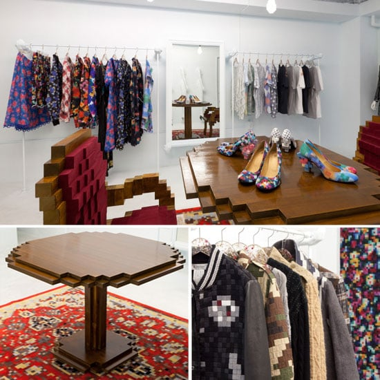 Anrealage Pixel Store and Clothing Designer in Tokyo
