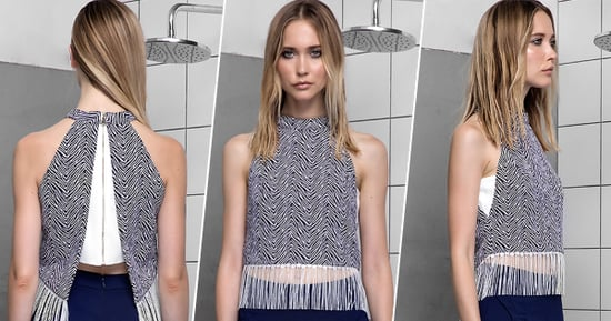 Cheap Thrill: A Fringed Halter Top for Any Occasion