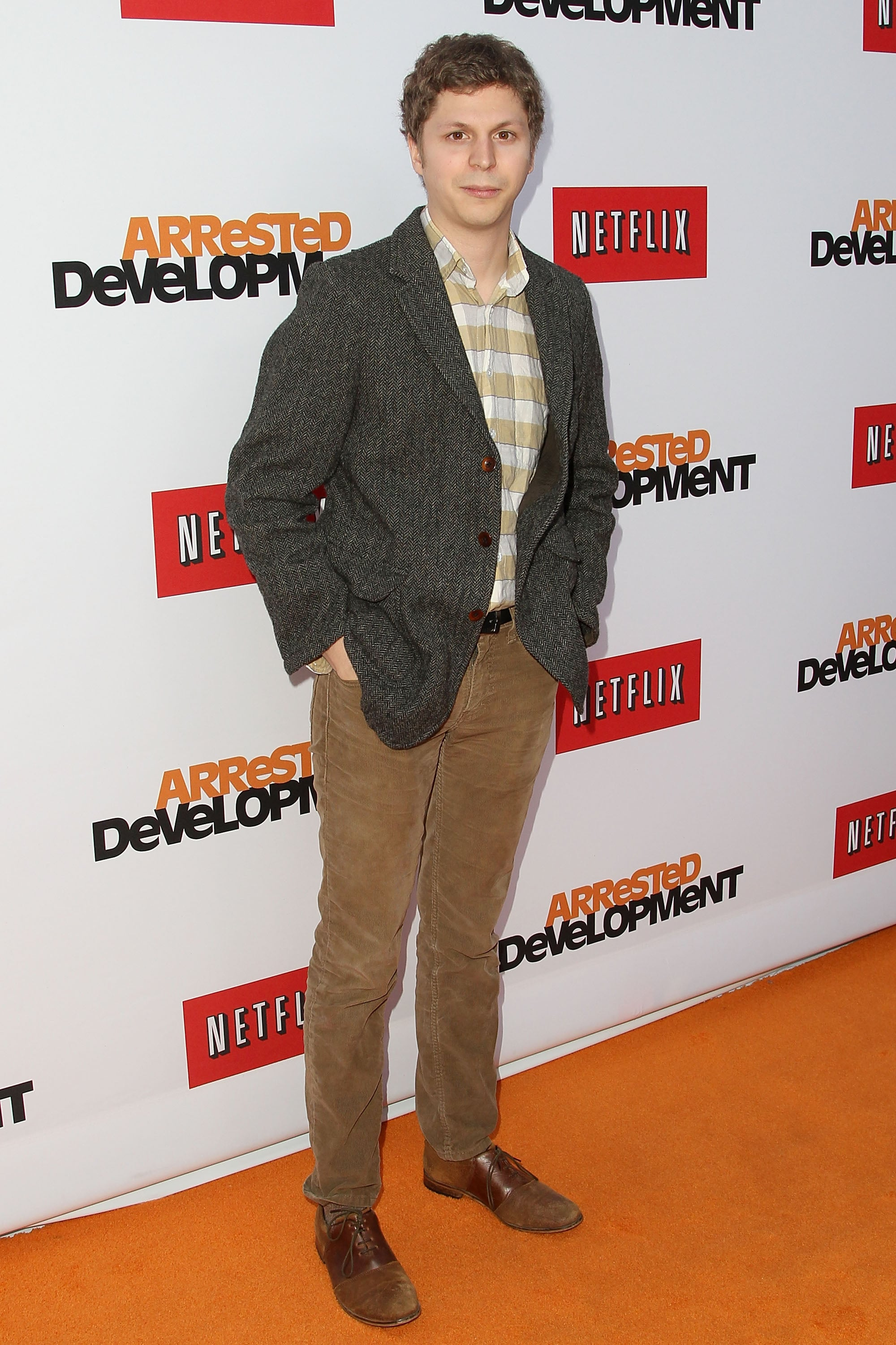 Michael Cera kept it simple at the premiere.
