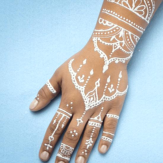 White Henna Video