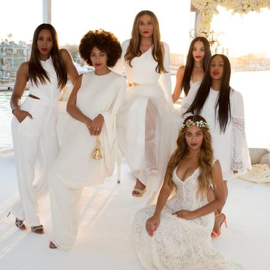 Tina Knowles Wedding Style