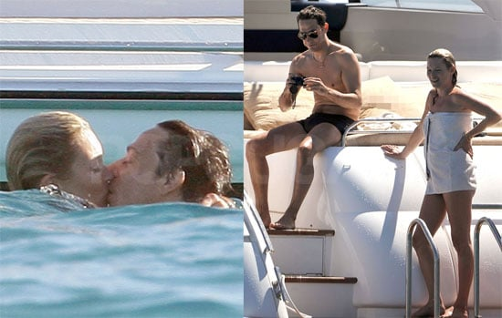 Photos of Kate Moss And Jamie Hince On a Boat in St. Tropez With Stefano Pilati And Karen Mulder