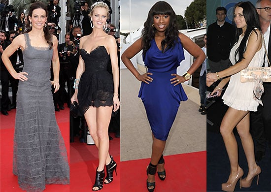 Pictures from the Red Carpet at the Cannes Film Festival 2010 Including Lindsay Lohan, Naomi Watts, Jennifer Hudson, Evangeline