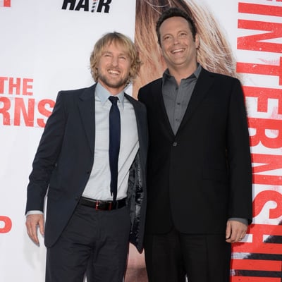 Vince Vaughn and Owen Wilson at The Internship Premiere