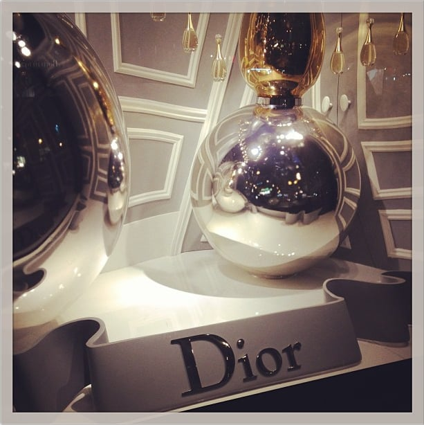 Mickey Boardman gave us a surreal view of Dior. Source: Instagram user askmrmickey