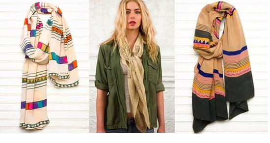 A Peace Treaty Does Great Spring Scarves
