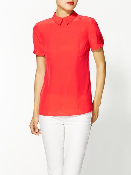 Who doesn't need a sweet blouse like this Marc by Marc Jacobs Bowery short-sleeved blouse ($150, originally $198) in her wardrobe to dress up jeans or pair with an equally prim fit-and-flare skirt.