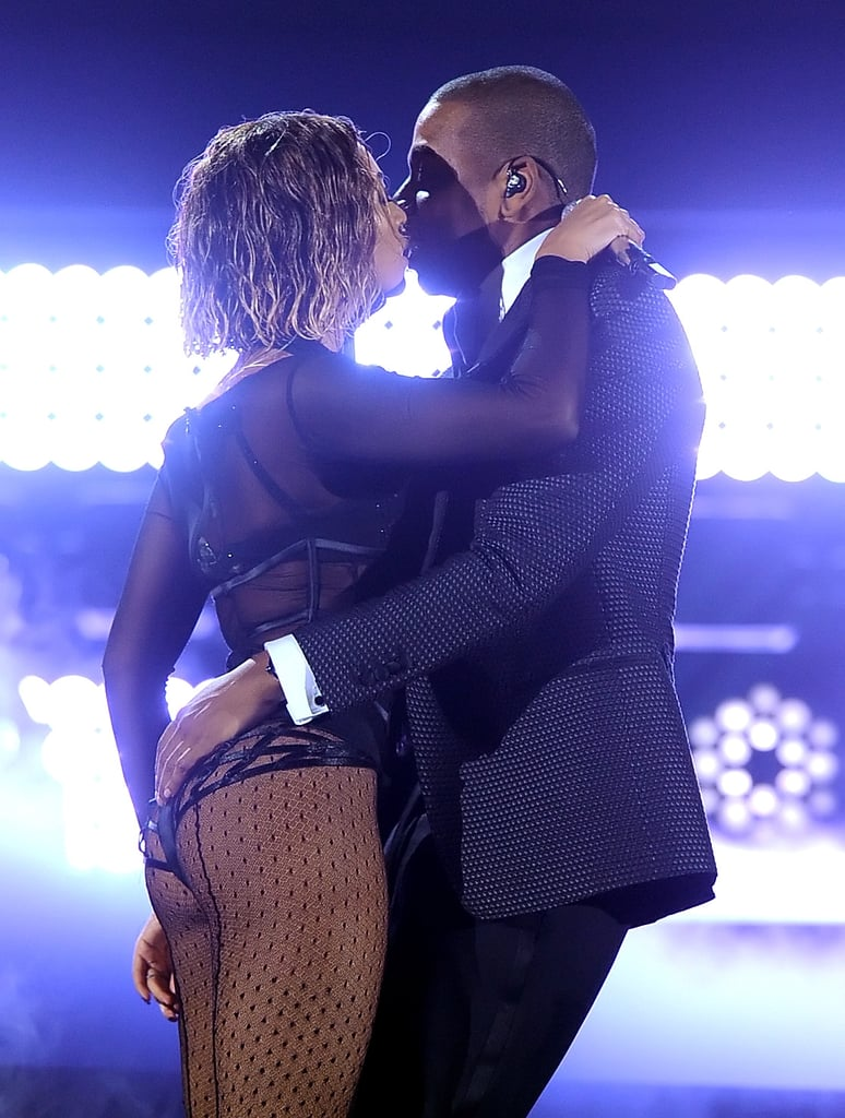 Beyoncé and Jay Z got physical, to say the least, during their steamy performance at the Grammys.
