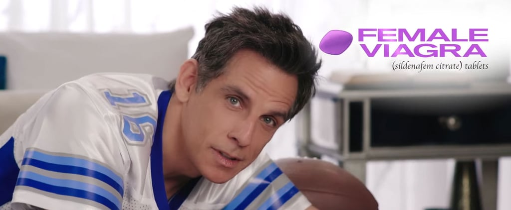 Watch Ben Stiller's Hysterical Super Bowl Commercial For Female Viagra That Never Aired
