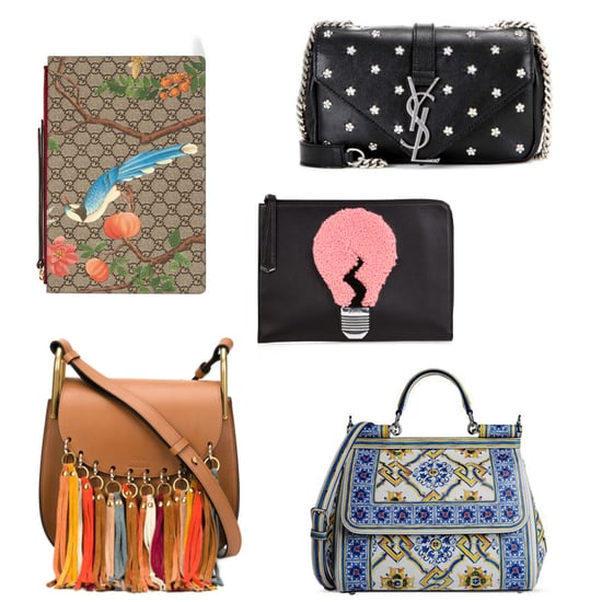 Fringed, Beaded and Printed Handbags To Own Now