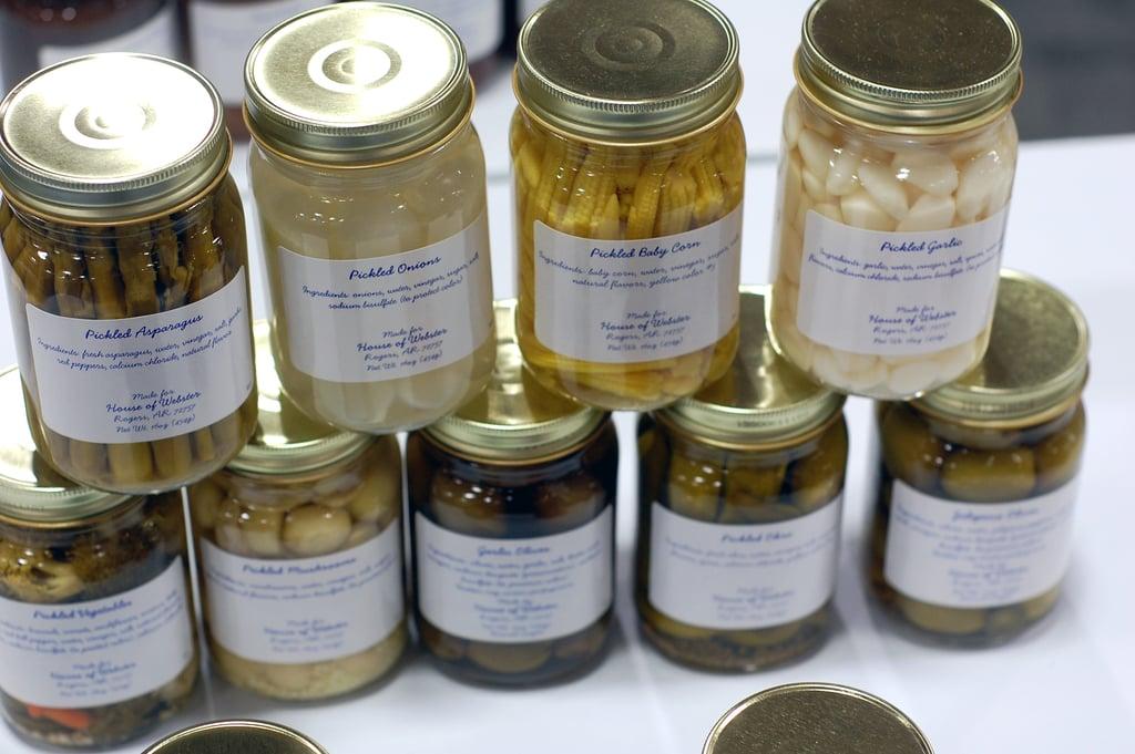 Pretty Jars of Pickles