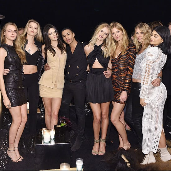 Go Inside Balmain's Epic LA Party With Kendall, Cara And More