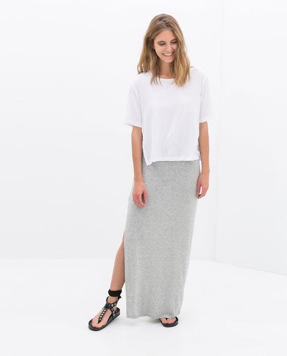 Zara Skirt With Slit
