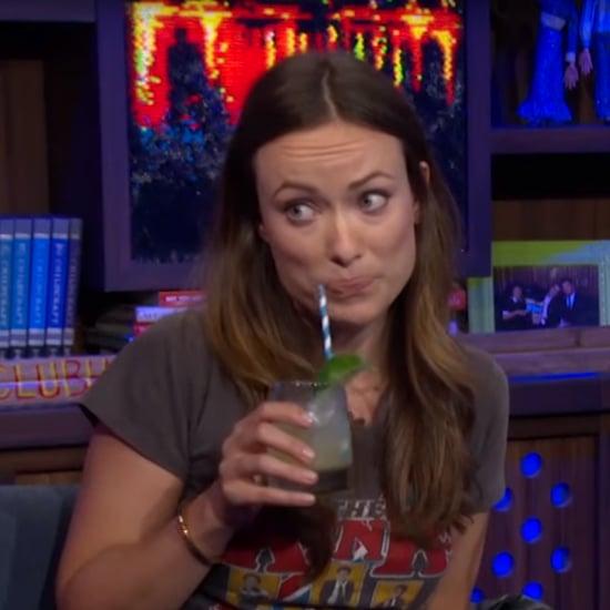 Olivia Wilde Watch What Happens Live October 2015