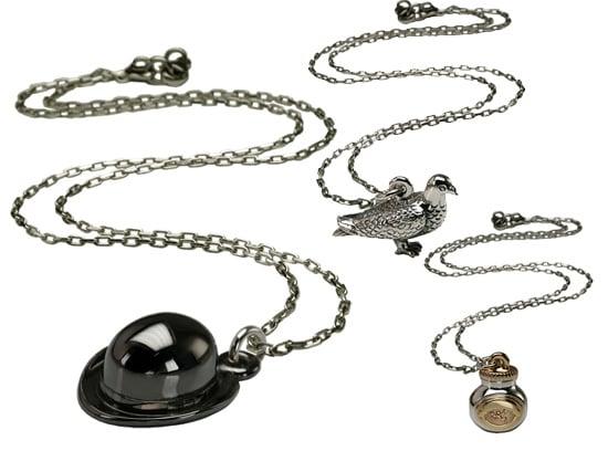 Stephen Einhorn Creates London Themed Jewellery Like Bowler Hat and Pigeon Pendant