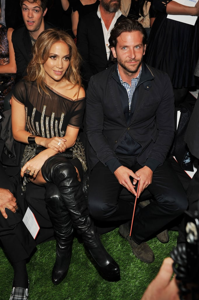 Jennifer Lopez and Bradley Cooper made a good pair in September 2010 for the Tommy Hilfiger show in NYC.