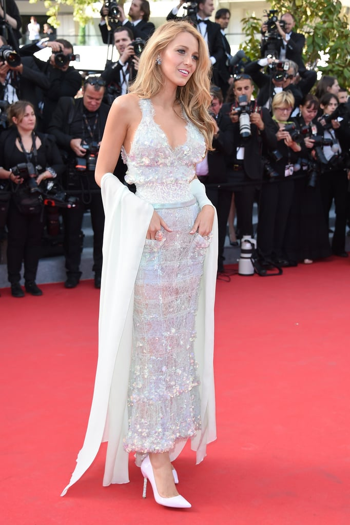 Blake Lively in Chanel at the Cannes Mr. Turner Premiere