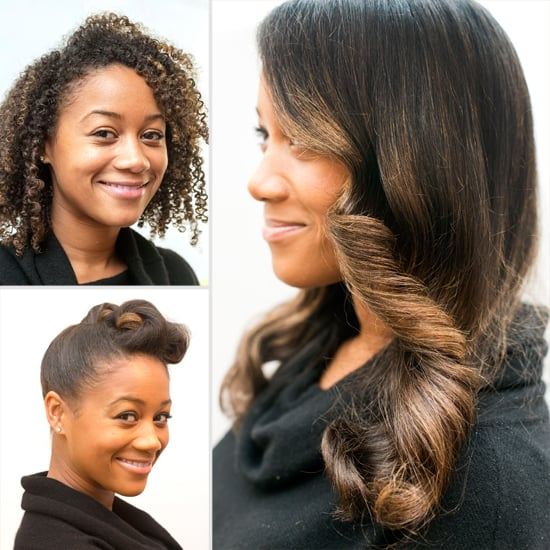 A Double-Duty Hair Idea For Naturally Curly Brides