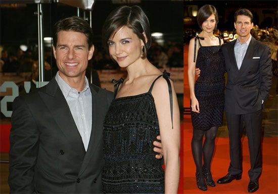 Photos of Tom Cruise and Katie Holmes at Valkyrie Premiere in London