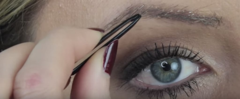 1 Woman Fattened Up Her Sparse Eyebrows in an Unexpected but Genius Way