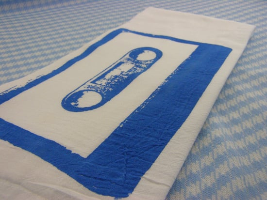 Etsy Find: Mix Tape Kitchen Towel