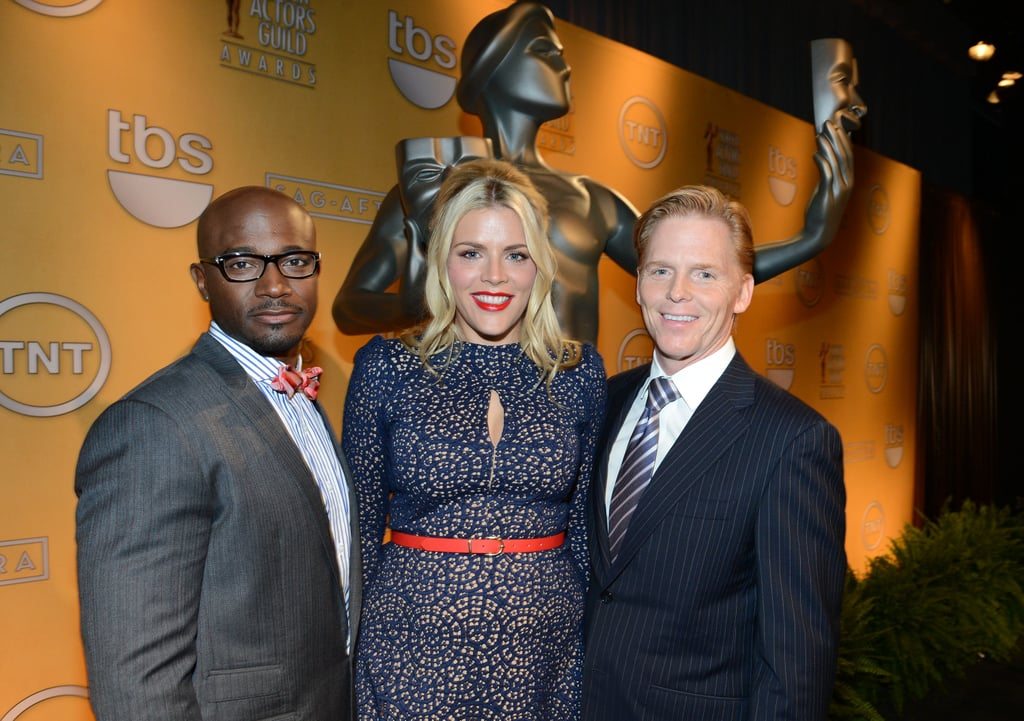 Taye Diggs, Busy Phillips and Ned Vaughn smiled in LA.