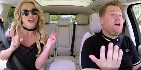A Taste Of Britney Spears' Carpool Karaoke With James Corden Isn't Enough
