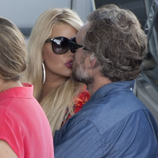 Jessica Simpson and Eric Johnson on Vacation in Italy