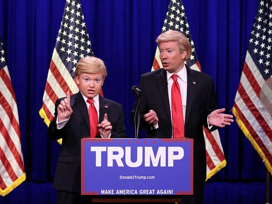 WATCH: Jimmy Fallon Jokingly Reveals Donald Trump's Vice President, Eighth Grade Impressionist 'Little Donald'
