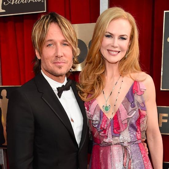 Keith Urban and Nicole Kidman at the SAG Awards 2016