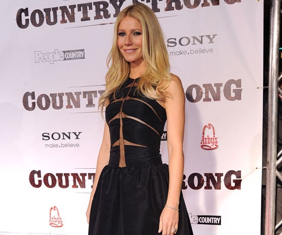 Slide Picture of Gwyneth Paltrow at Country Strong Premiere