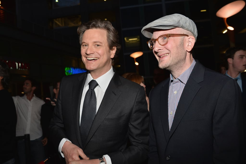 Emily Blunt Brings John to Celebrate Her Premiere With Colin Firth