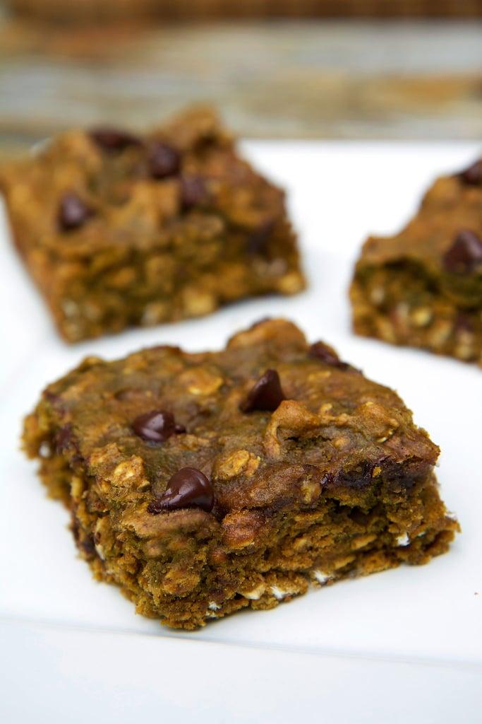 Pumpkin Chocolate Chip Protein Bars