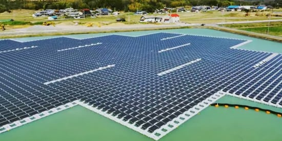 Giant Floating Solar Power Stations Are Japan's Newest Power Source