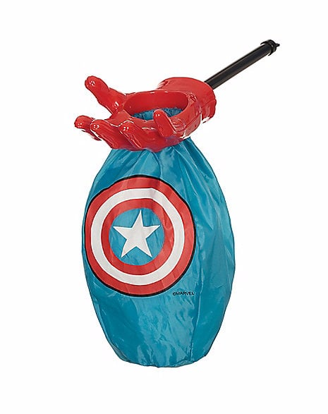 Captain America Loot and Scoop Treat Bag