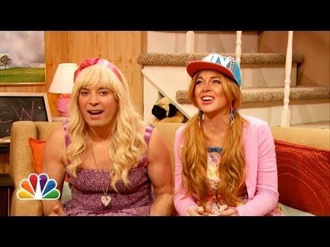 """""""Ew"""" With Lindsay Lohan"""