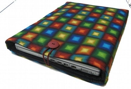 Colorful Geometric Laptop Sleeve