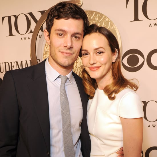 Leighton Meester and Adam Brody at the Tony Awards 2014
