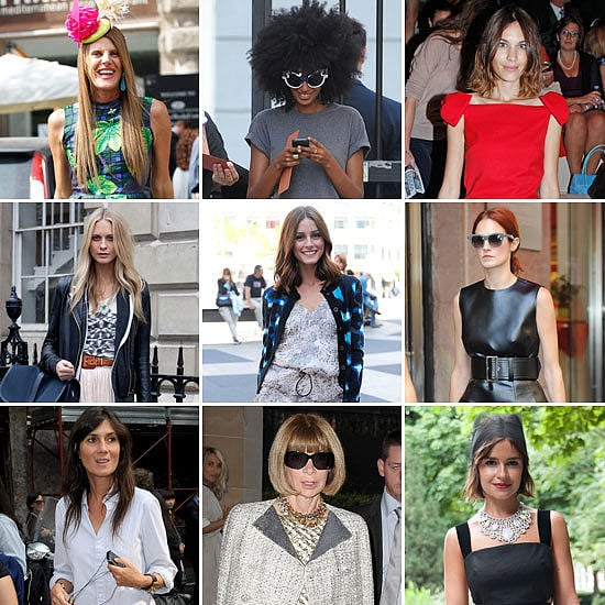 We made sure you were fully prepped on our favorite street-style stars, which range from Anna Dello Russo to Anna Wintour.