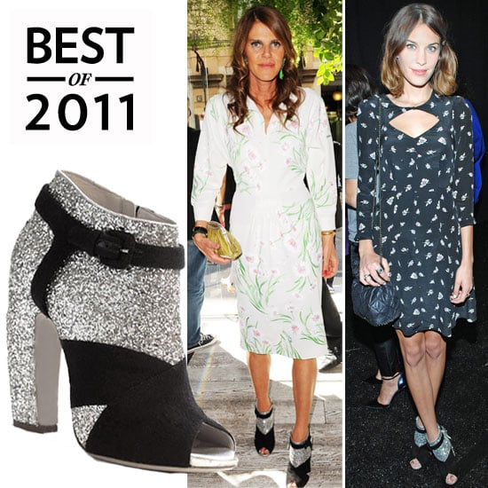 Miu Miu Sparkly Booties Are Best Accessory 2011