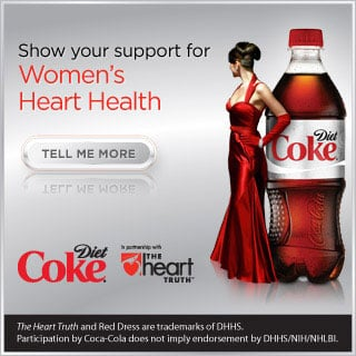 Join Diet Coke and Wear Red For Women's Heart Health