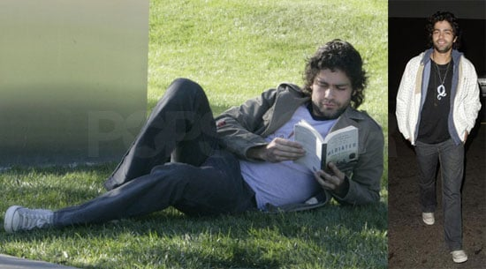 Adrian Gets In His Meditative Reading