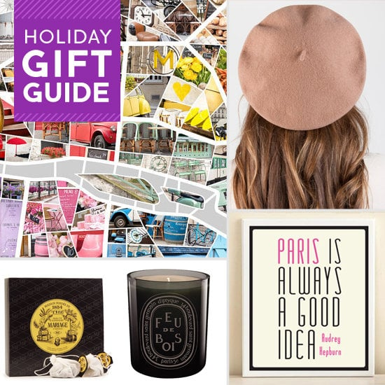 For the holidays, give your favorite wannabe Frenchie music by France's 1960s pop princesses, a colorful photo map of Paris for her chic appartement, delicious French delicacies, or books about the French way of life. Check out TresSugar's gift ideas for the Francophile.