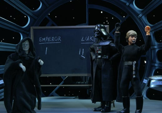 """Robot Chicken"" Takes on ""Star Wars"""