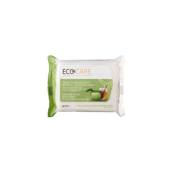 Ecocare Facial Wipes in Apple & Honey, $8.50