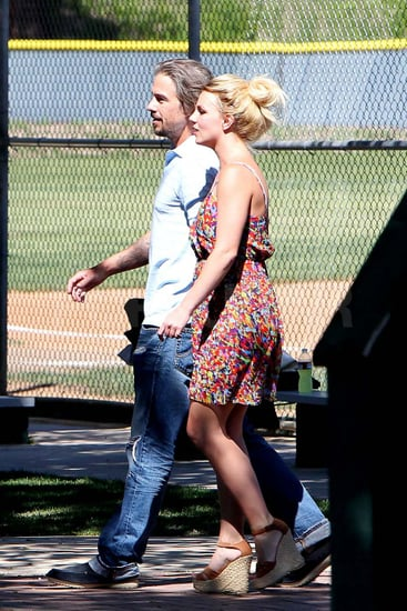 Top-Ranking Britney Spears Spends a Day in the Stands For Sean Preston